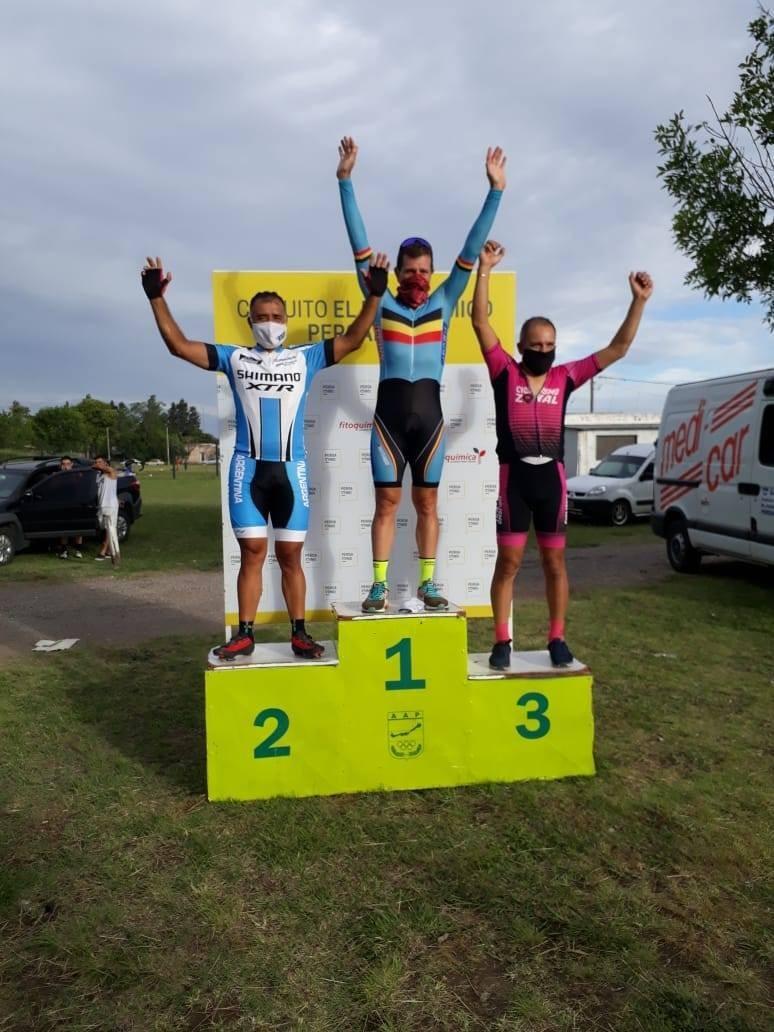 Sebastián Tolosa ganó en la vuelta del ciclismo Pergamino
