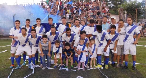 Argentino, el gran campeón del futbol saladillense