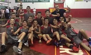 Club Ciudad de Saladillo campeón en la categoría sub15