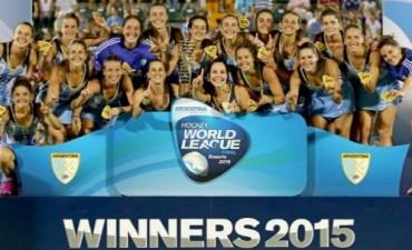 ¡Las Leonas, campeonas de la Liga Mundial!