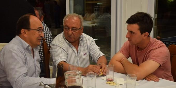 Salomón estuvo en la cena anual organizada por Juan Martín Bruno