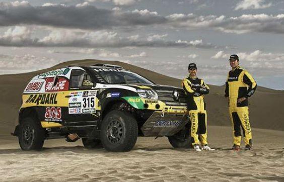 Spataro – Ardusso, duo latino para Renault en el Dakar 2017