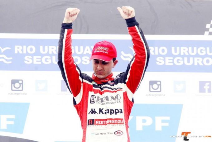 Juan Martín Bruno debuta en el TC con Dodge y el mismo equipo