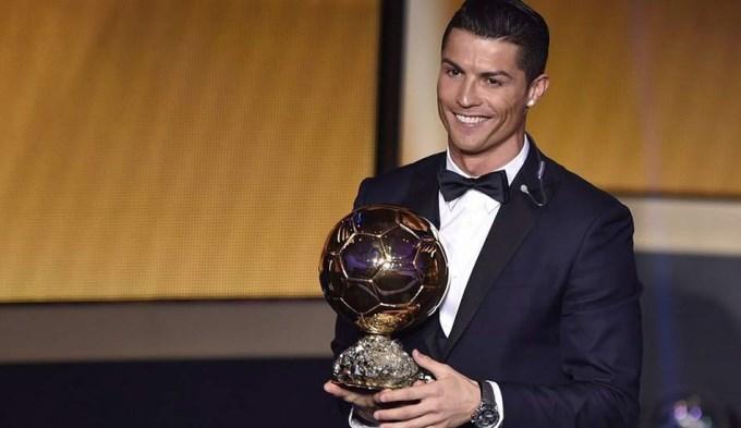 Ronaldo fue más que Messi y se quedó con el Balón de Oro
