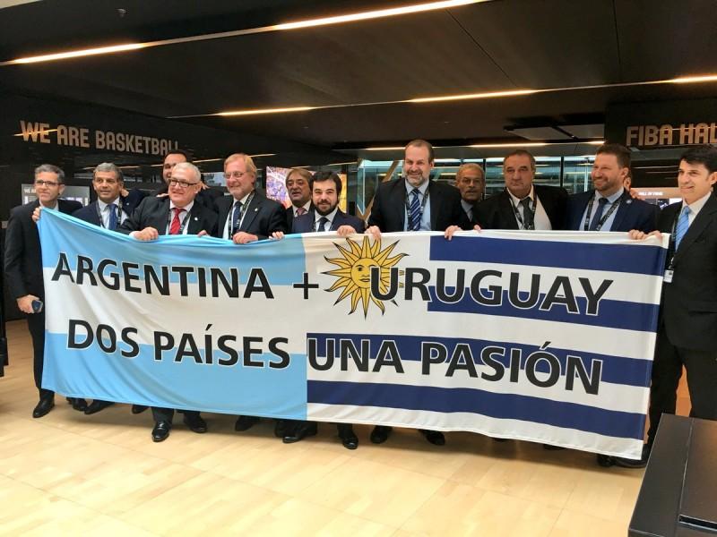 Argentina y Uruguay organizarán el Mundial de basquet del 2027