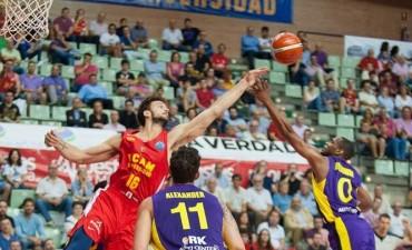 El Ucam Murcia de Marcos Delía le ganó al Zaragoza 77/73