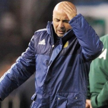 Noche de furia de Jorge Sampaoli, DT de la selección Nacional
