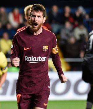 Messi clavó un gol, rompió otro récord y el Barsa sigue líder