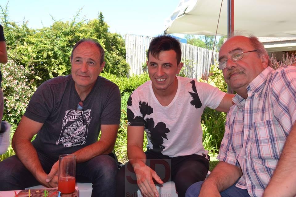 Juan Martín Bruno agasajó a sponsors, amigos y periodistas