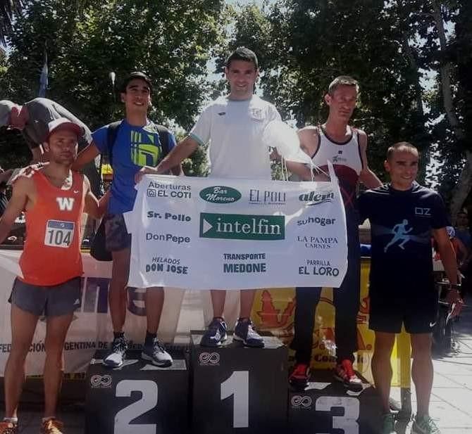 Miguel Ángel Lubo ganó en Las Flores