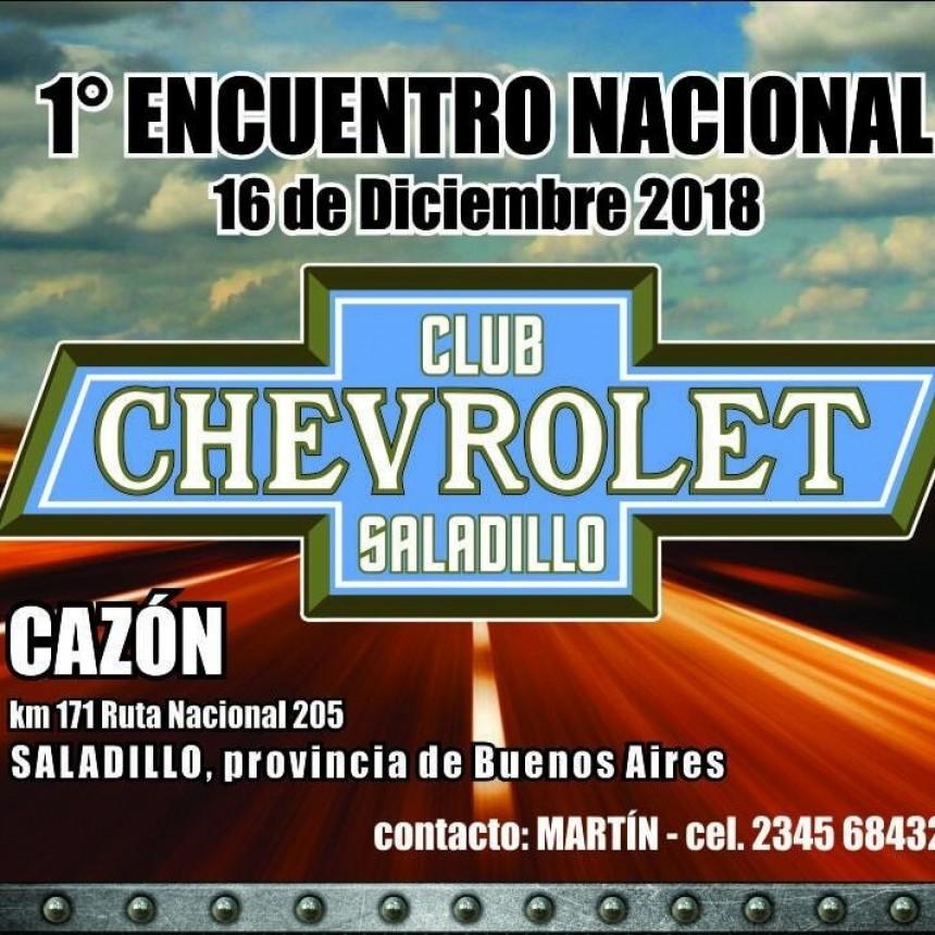 1° Encuentro Nacional de Chevrolet en Cazón