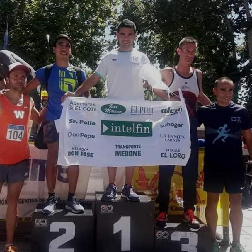 Ezequiel Aguilera ganó la 14° Edición de la maratón de Valentín Alsina