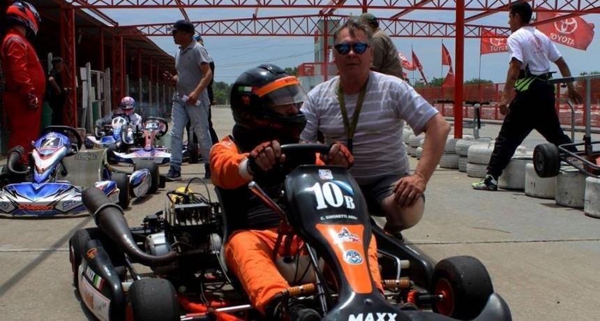 Carlos Simonetti corrió la última de la temporada en Zarate