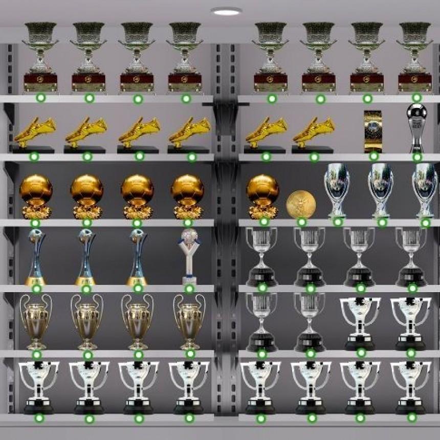 La vitrina de Lionel Messi: todos sus trofeos como nunca se vieron
