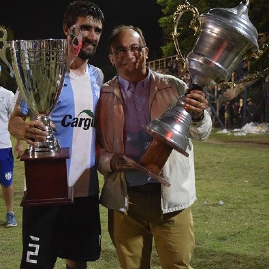 El Intendente de Saladillo estuvo en el partido final del Torneo Clausura de Fútbol