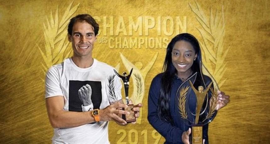 Rafa Nadal y Simone Biles, los mejores de 2019 para 'L'Équipe'