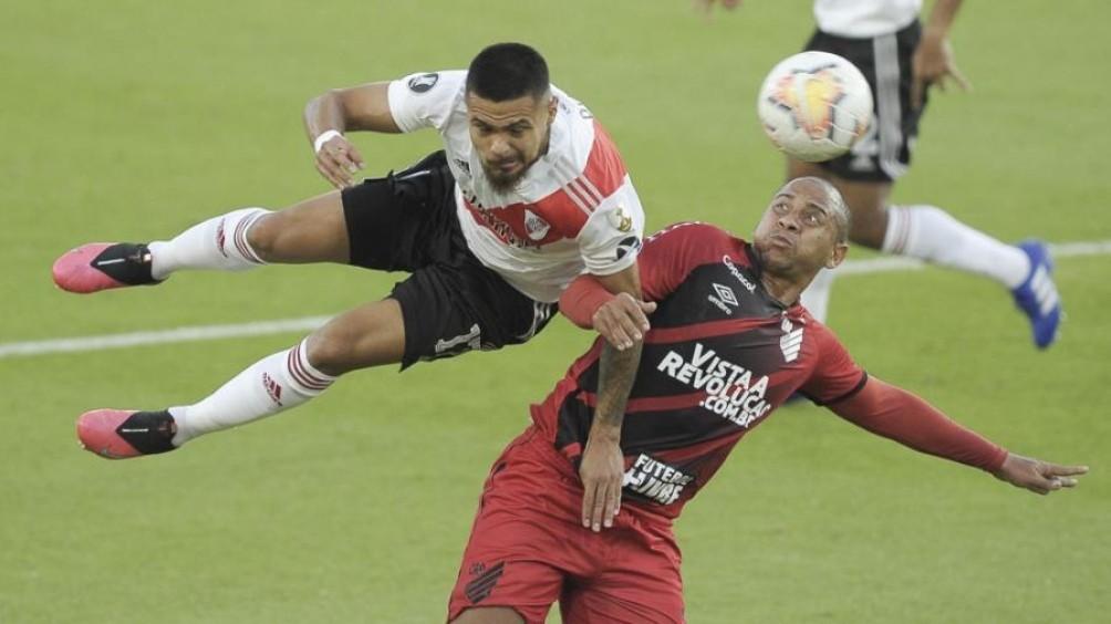 River pasó a cuartos de final tras vencer a Paranaense